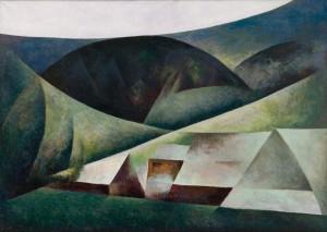 """Jerzy Mierzejewski """"Bukowina V"""" 1969-1970"""